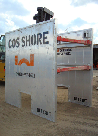 Aluminum Trench Boxes & Sheet Piling