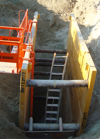 Steel Trench Boxes & Sheet Piling